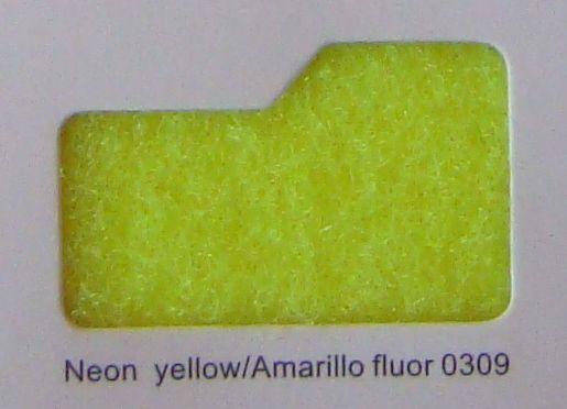 Cinta de cierre Velcro-Veraco 38mm Amarillo fluor 0309 (Rizo).