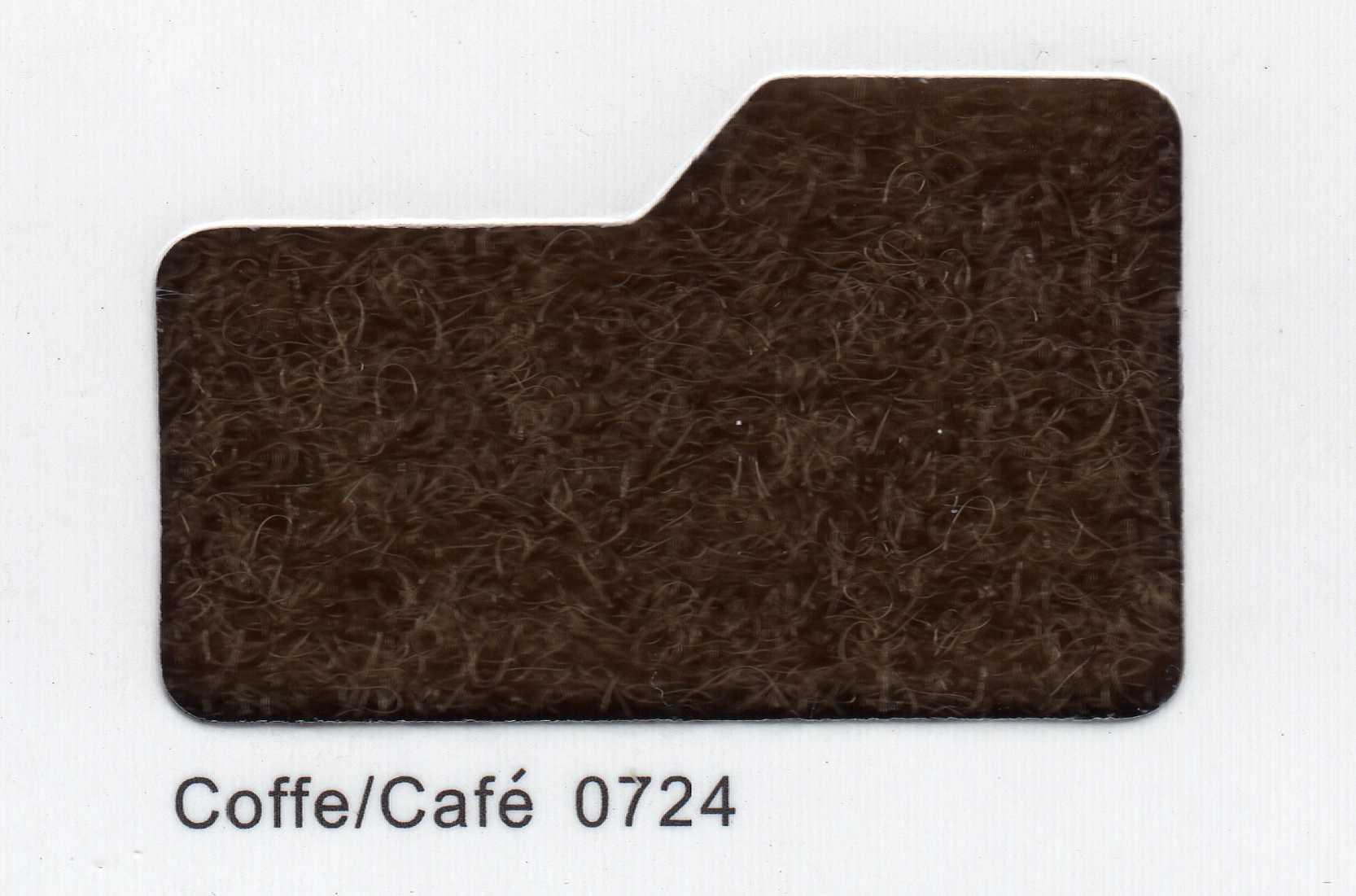 Cinta de cierre Velcro-Veraco 100mm Café 0724 (Gancho).