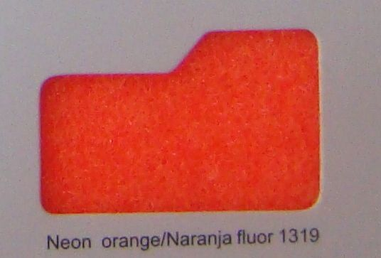 Cinta de cierre Velcro-Veraco 50mm Naranja fluor 1319 (Rizo).