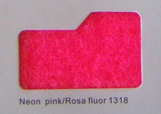 Cinta de cierre Velcro-Veraco 20mm Rosa fluor 1316 (Gancho).