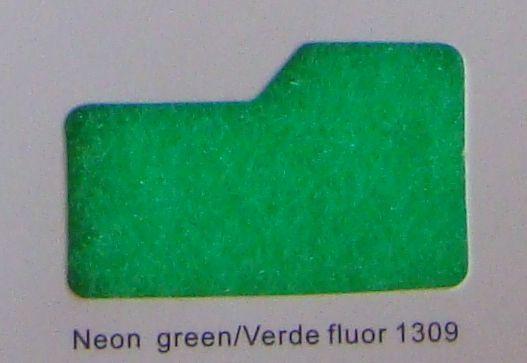 Cinta de cierre Velcro-Veraco 25mm Verde fluor 1309 (Rizo).