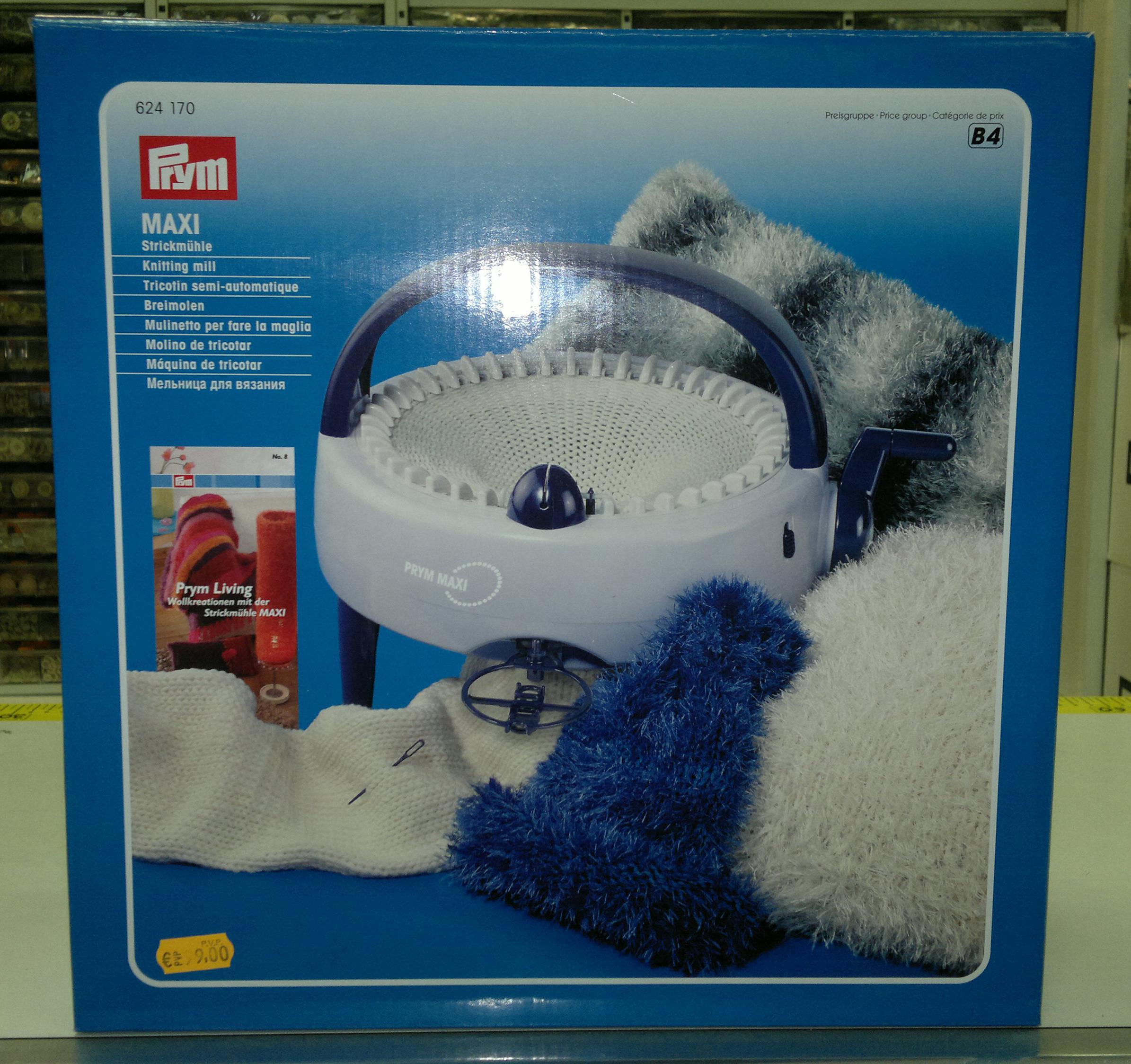 Molino de tricotar Maxi