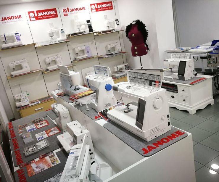 Máquinas de coser Domésticas.