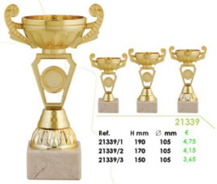 Trofeos: Catálogo general de Trofeos Getafe