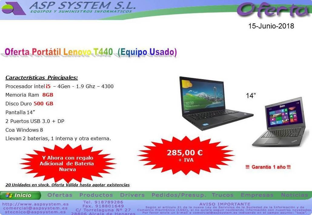 Foto 2 de Informática (alquiler de equipos) en Alcalá de Henares | ASP System, S.L.