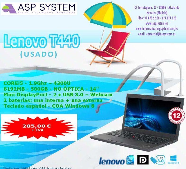 Oferta Portátil USADO Lenovo T440