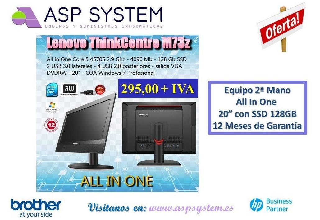 Foto 1 de Informática (alquiler de equipos) en Alcalá de Henares | ASP System, S.L.