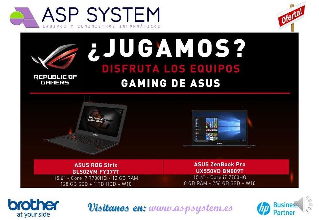 Foto 8 de Informática (alquiler de equipos) en Alcalá de Henares | ASP System, S.L.