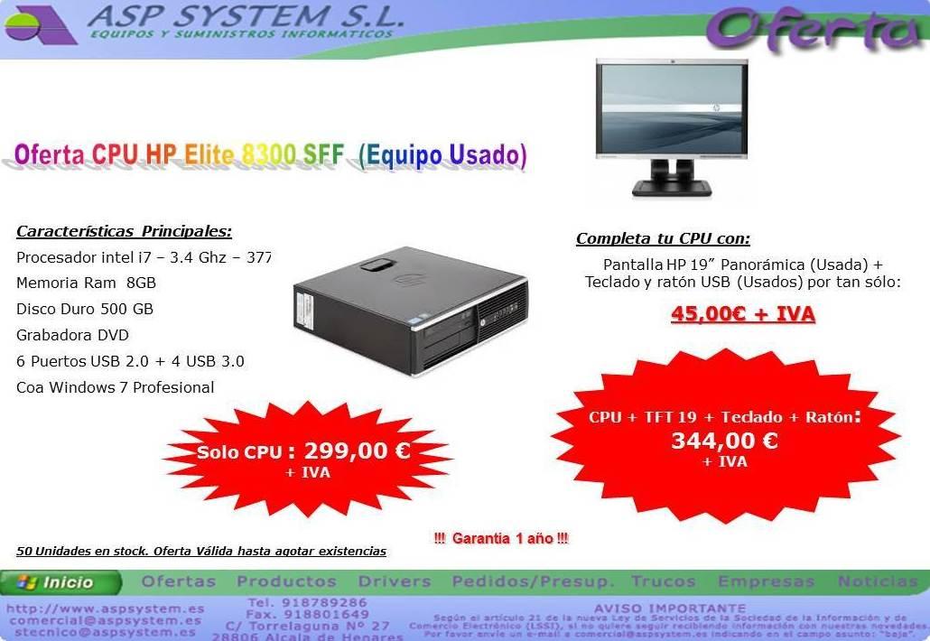 Foto 4 de Informática (alquiler de equipos) en Alcalá de Henares | ASP System, S.L.