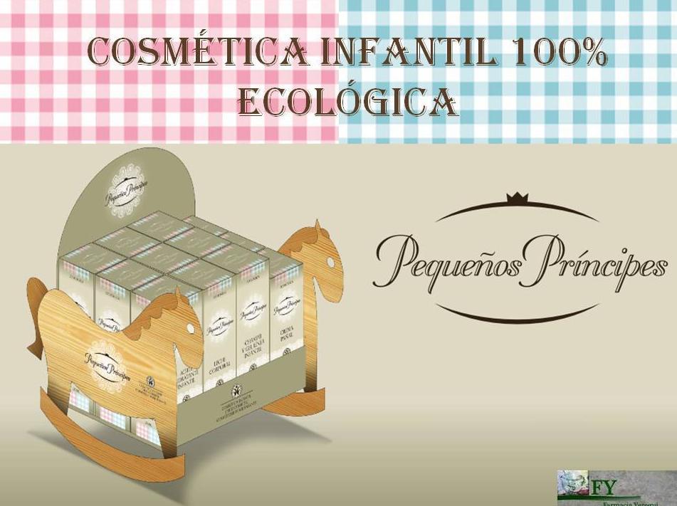 NUEVA LÍNEA DE COSMÉTICA INFANTIL ECOLÓGICA: PEQUEÑOS PRÍNCIPES