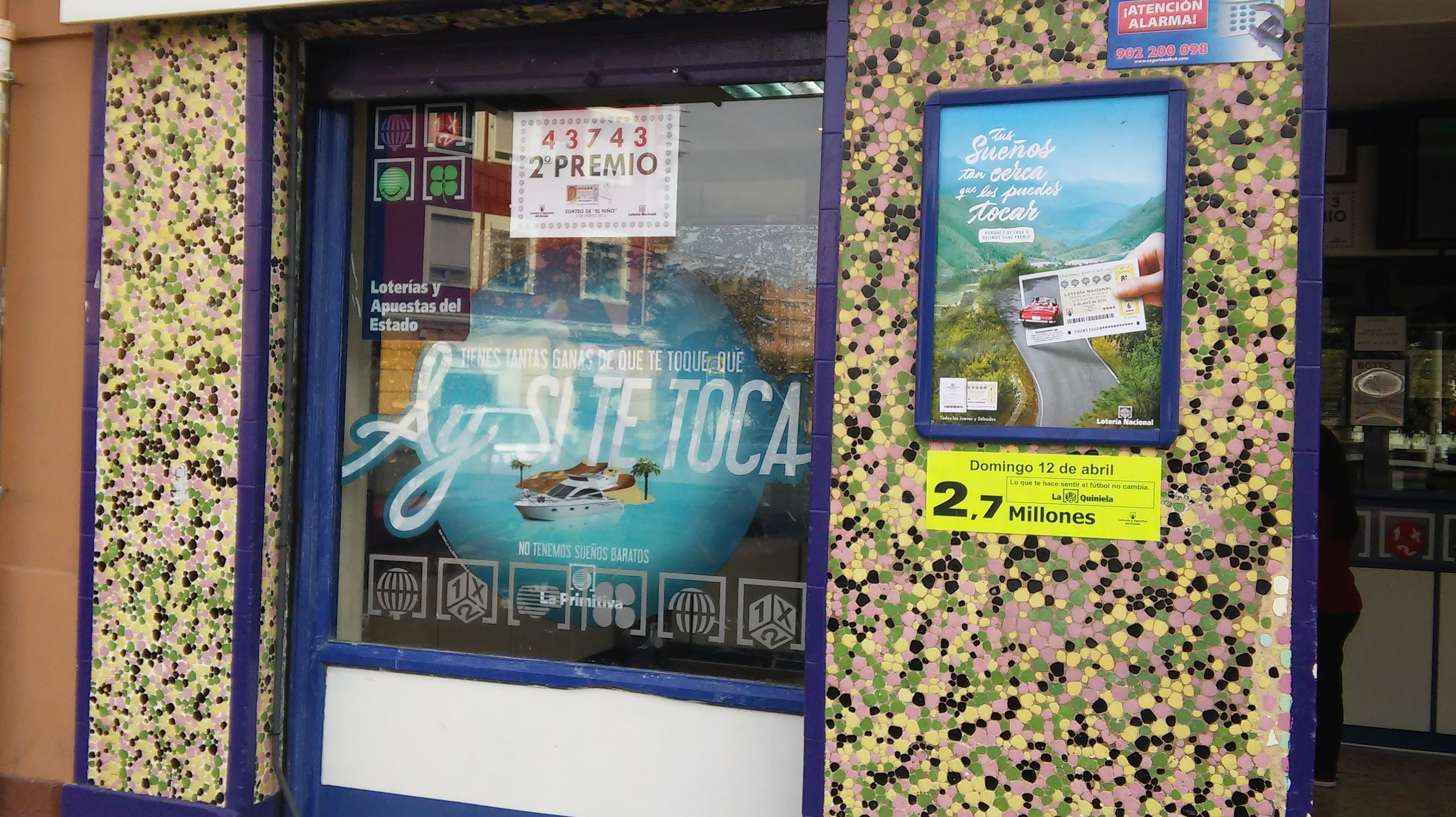 Administración de lotería premiada Valencia