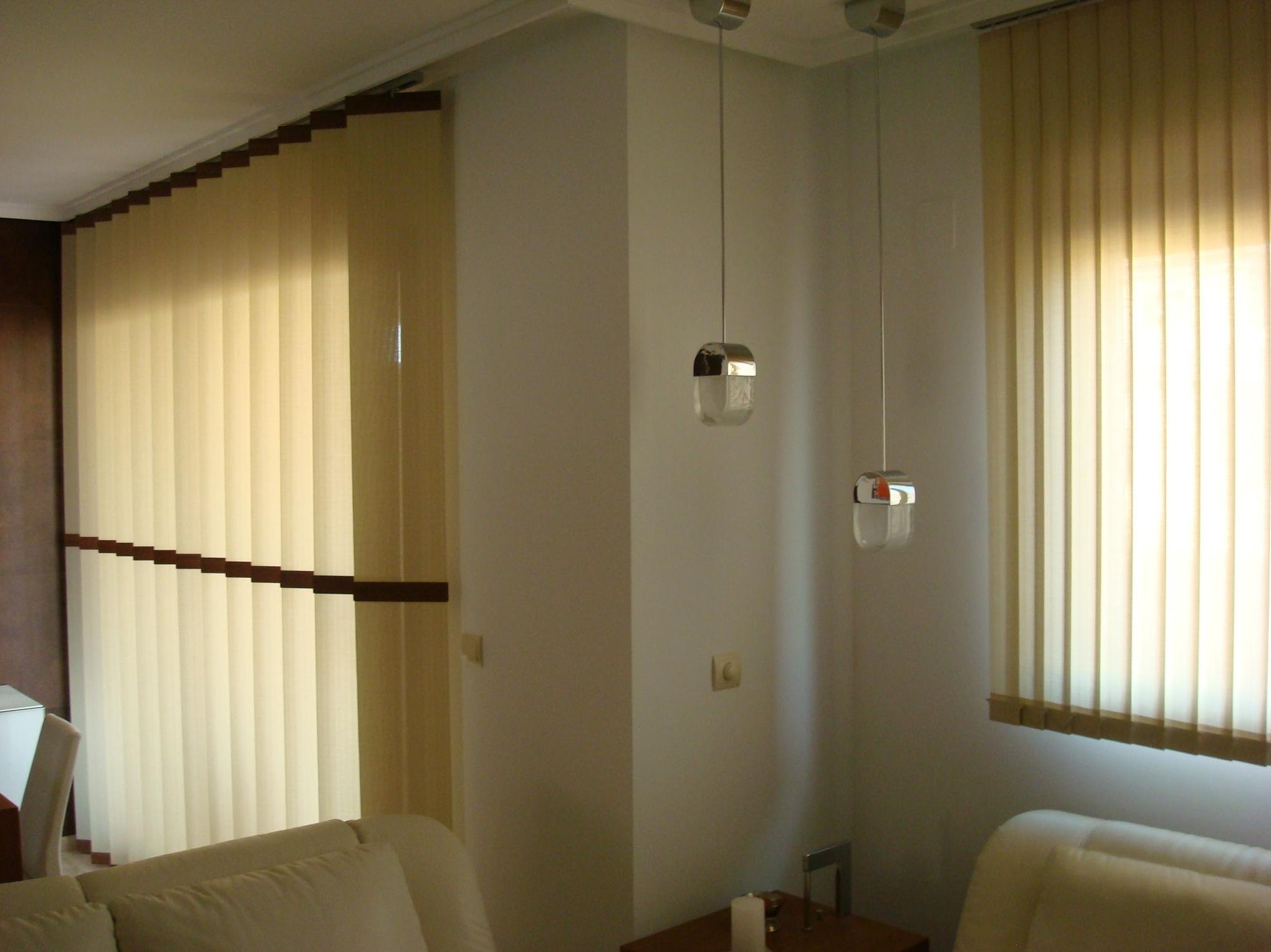 Cortinas verticales. Tienda de cortinas verticales de Valencia