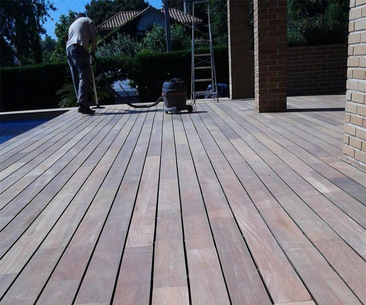 Empresa de suelos de madera para exterior en Gijón