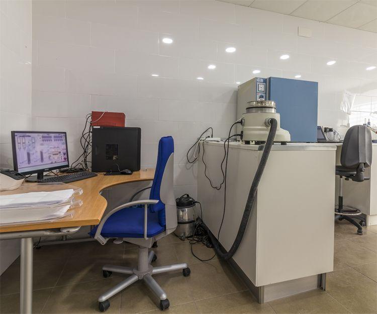 Oficina de nuestra fábrica de yeso en Murcia
