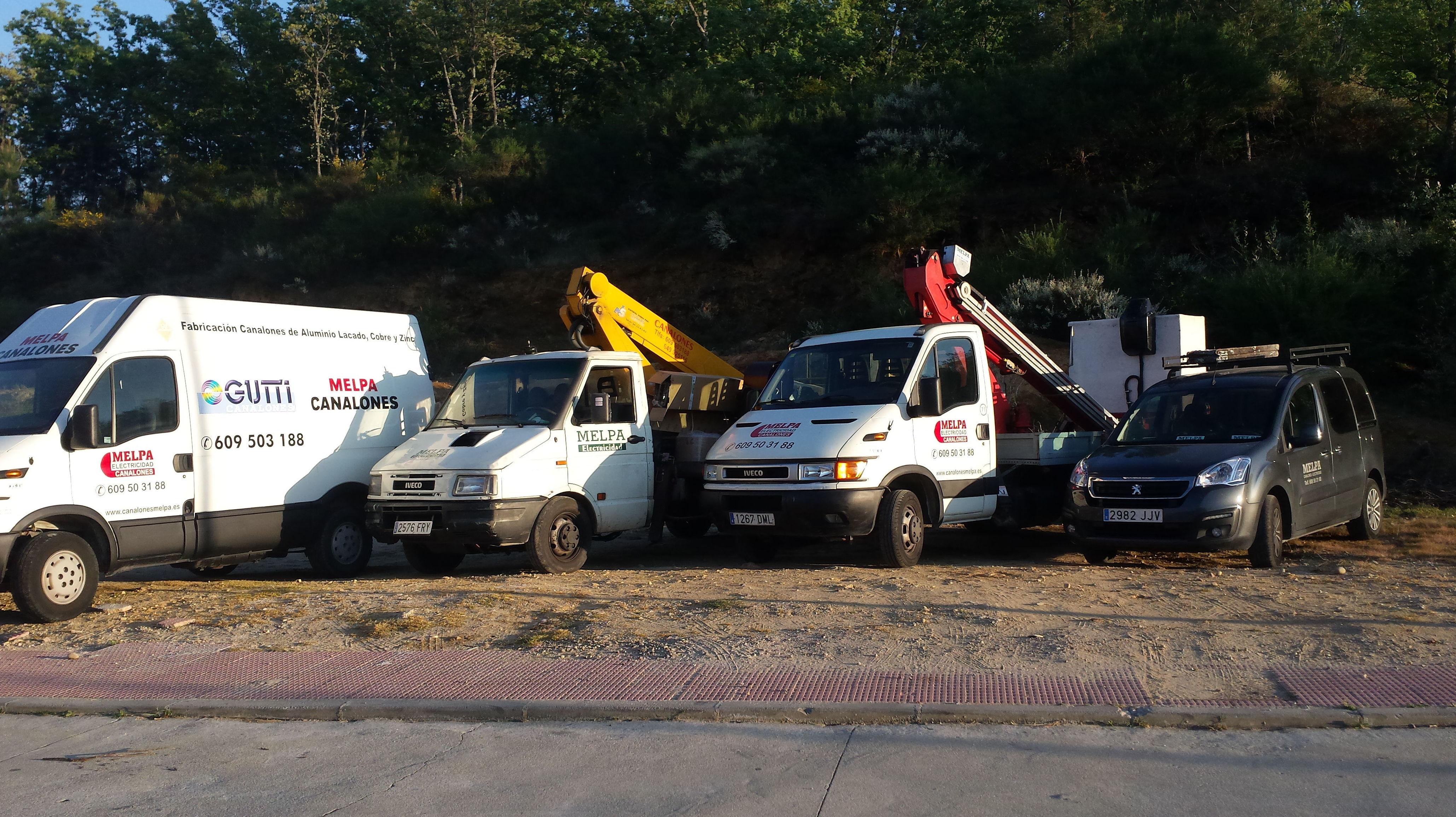 Foto 1 de Instalación y mantenimiento de canalones en Jaraíz de la Vera | Melpa Canalones