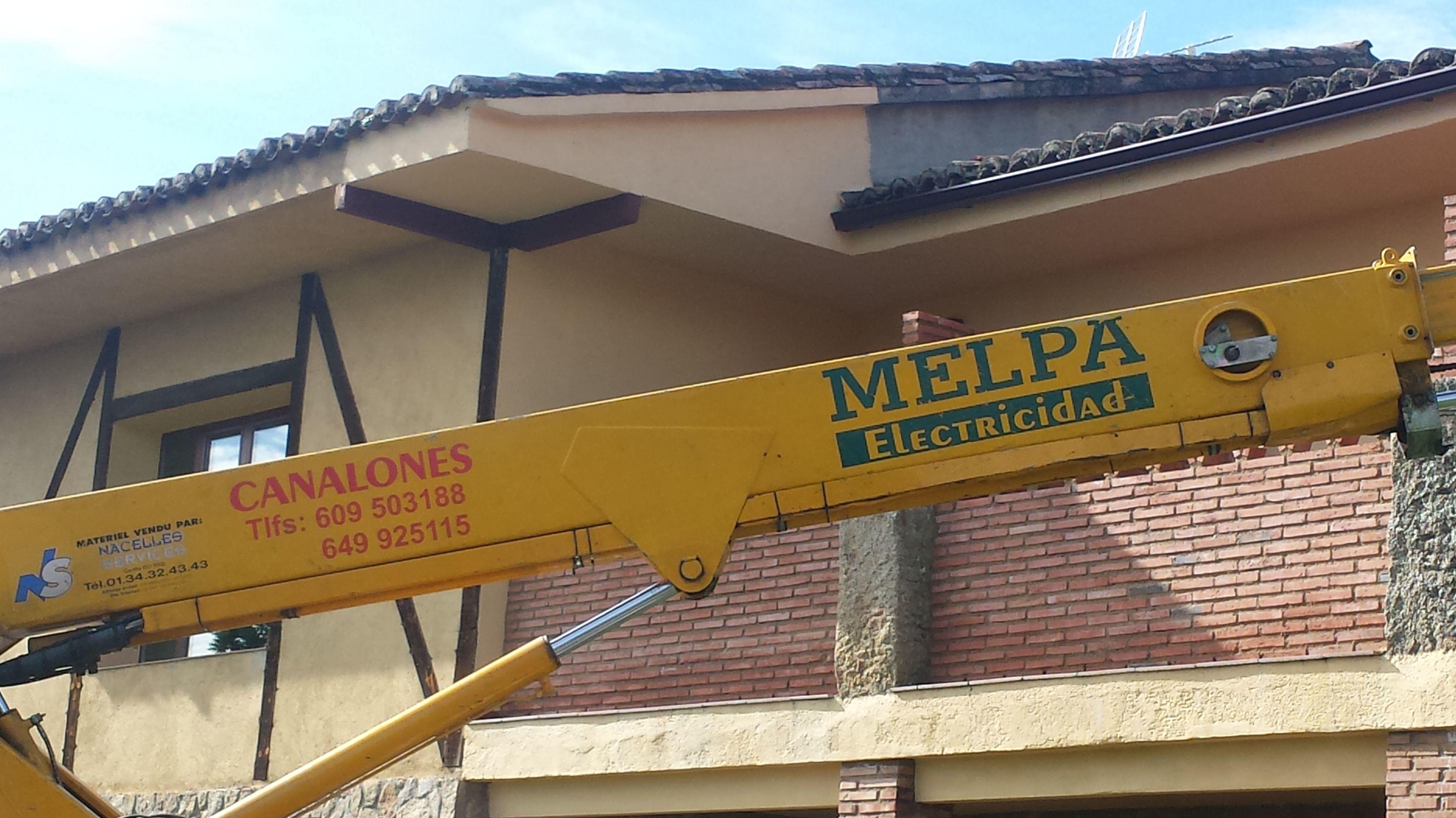 Foto 18 de Instalación y mantenimiento de canalones en Jaraíz de la Vera   Melpa Canalones