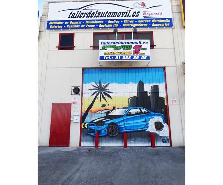 Taller concertado con aseguradoras en Arroyomolinos