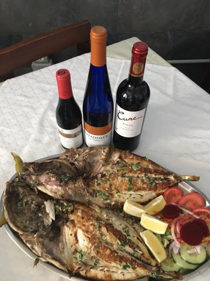 Platos de pescado de la zona Las Palmas de Gran Canaria