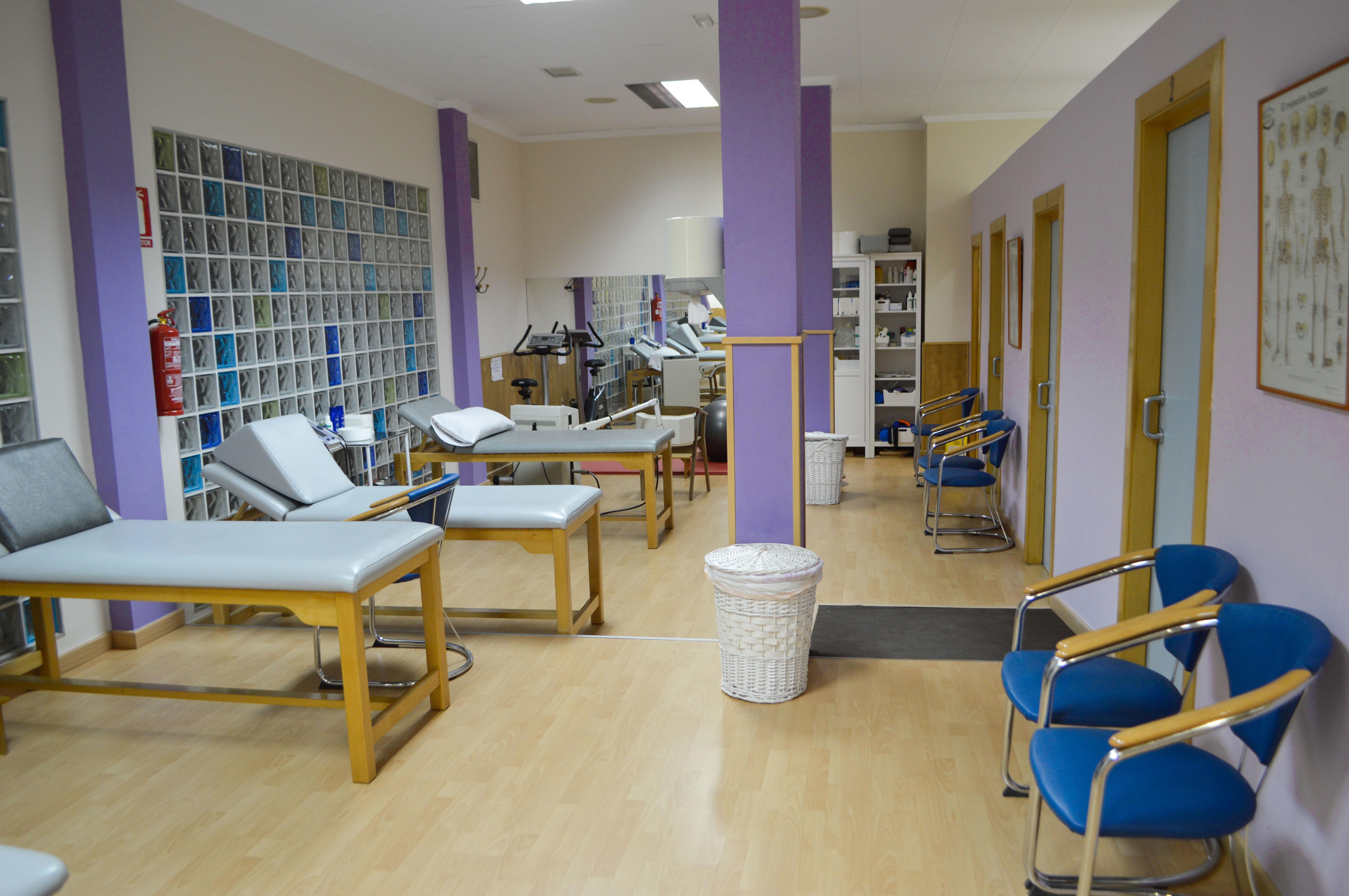 Interior de nuestra sala de tratamientos