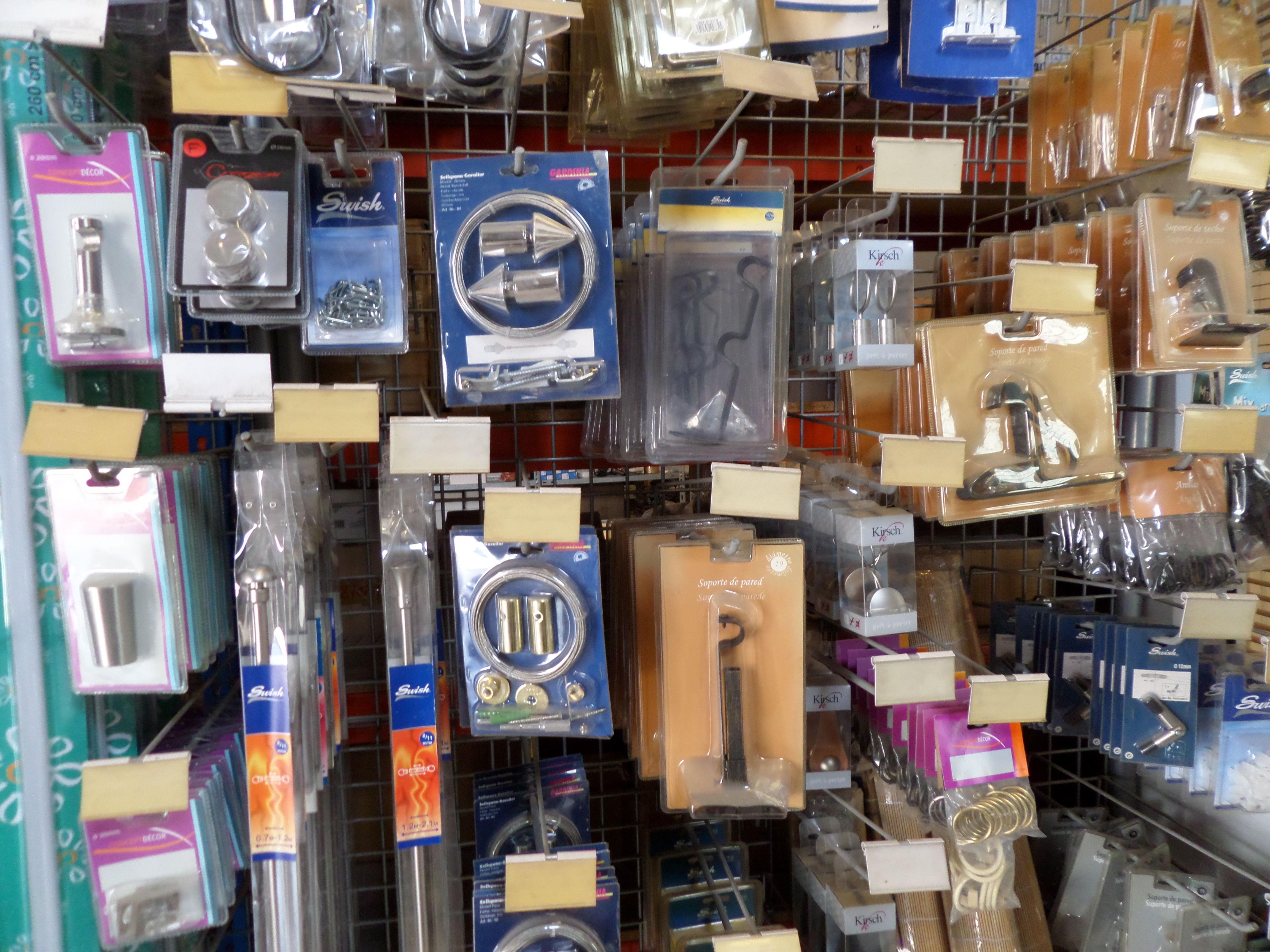 Venta de estores enrollables baratos en murcia almer a for Accesorios para colgar cortinas