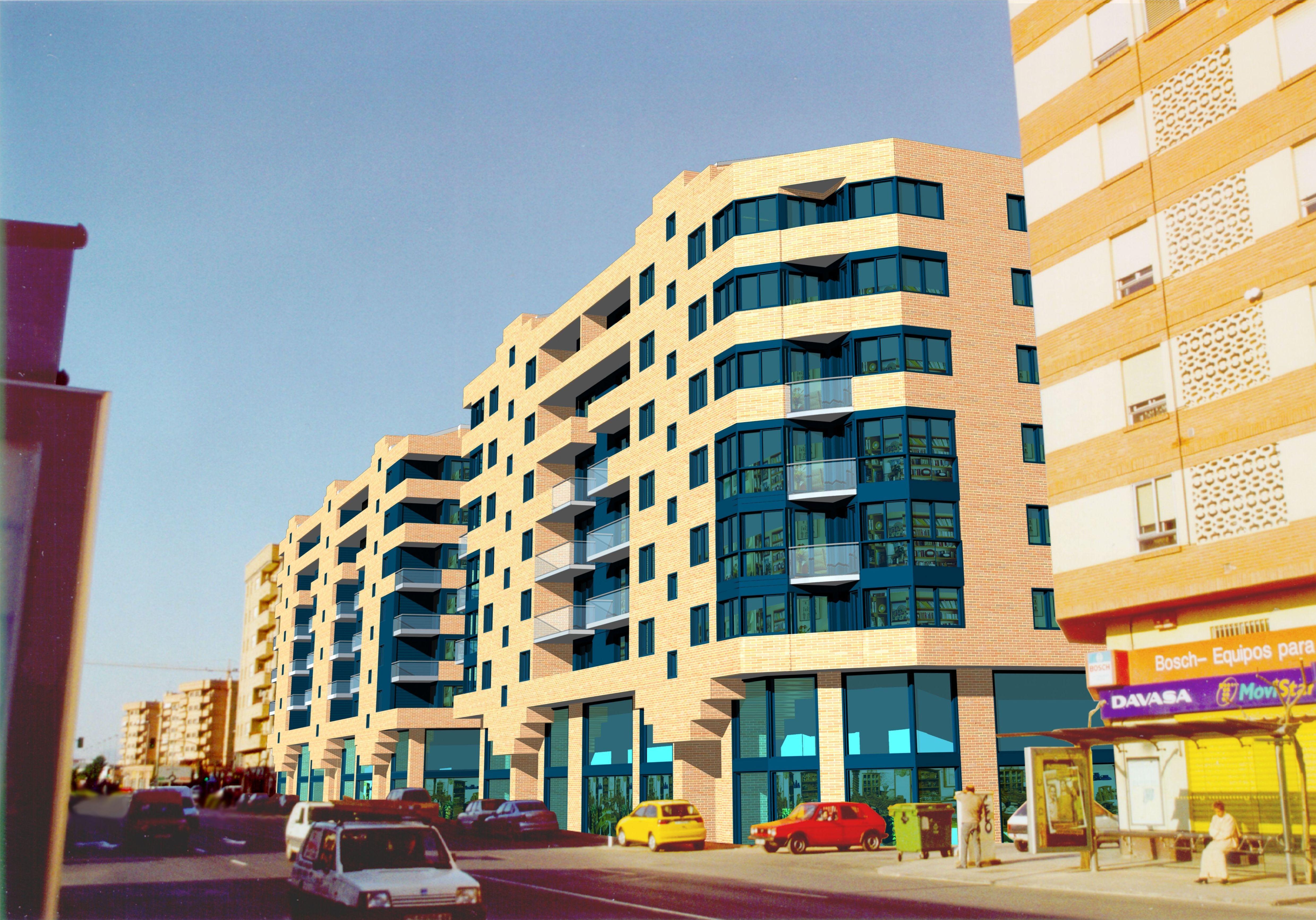 PROYECTO DE Edificio de 158 viviendas, dos sotanos y locales comerciales, CASTELLON