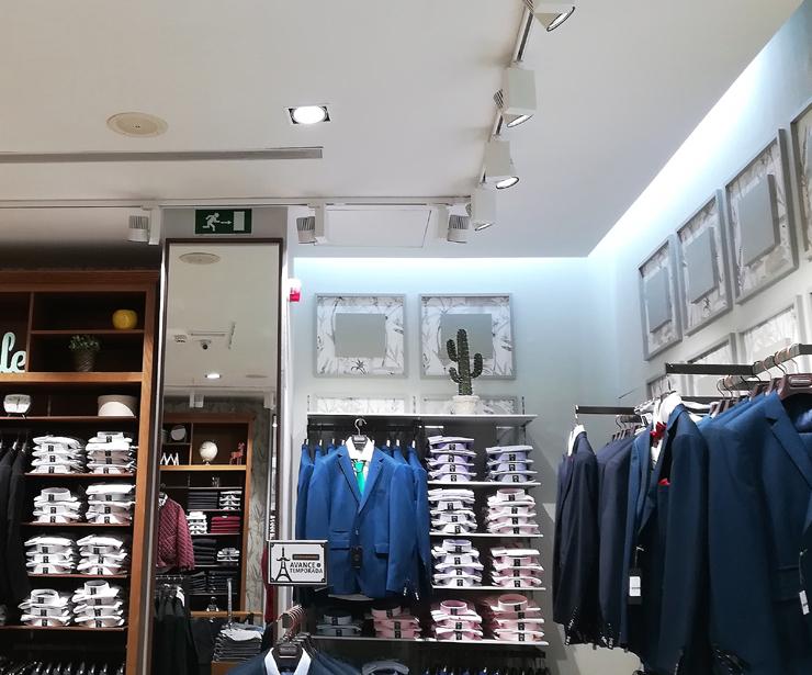Expertos en iluminación LED para Retail en Madrid
