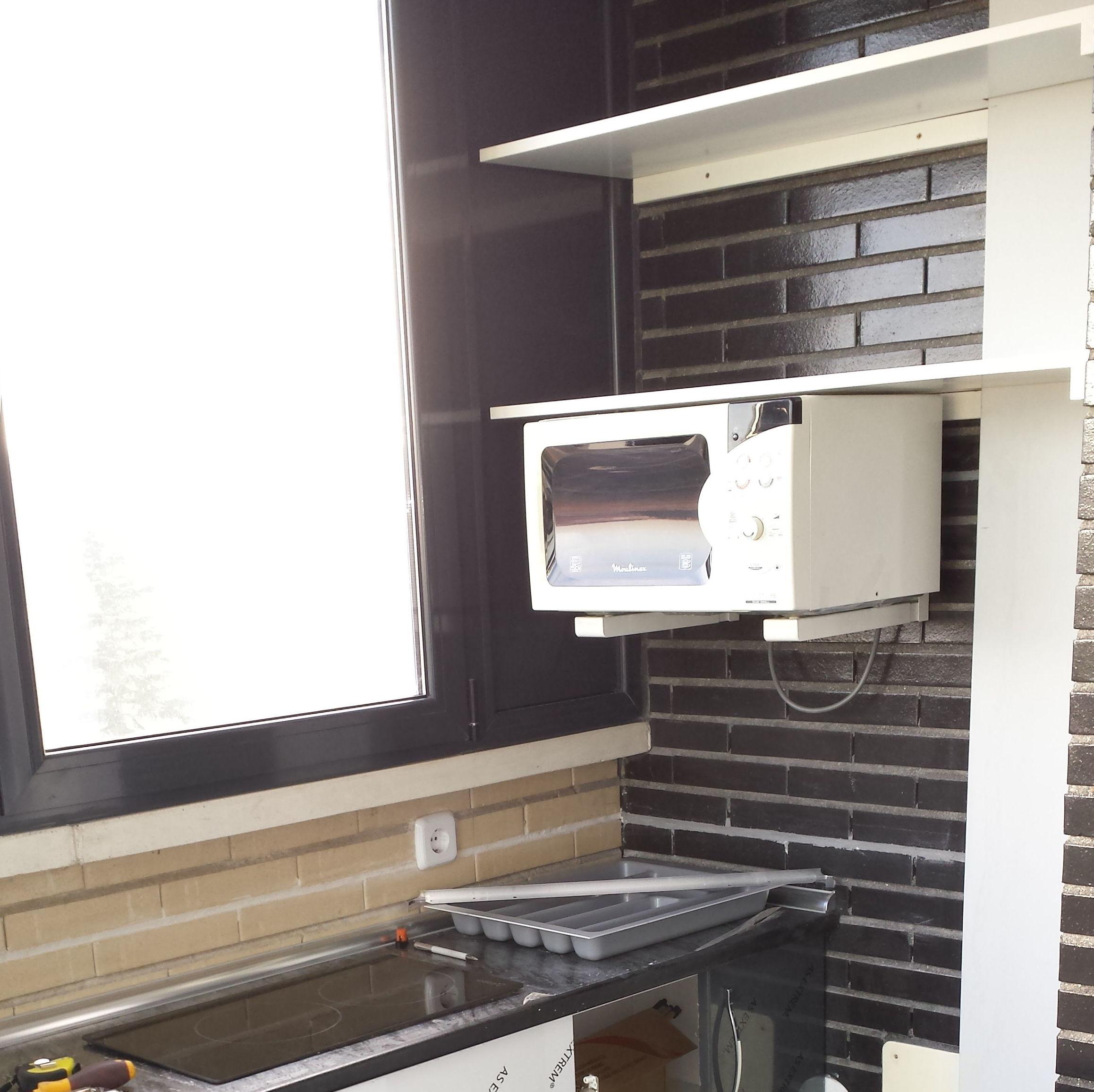 Montajes de muebles de cocina.