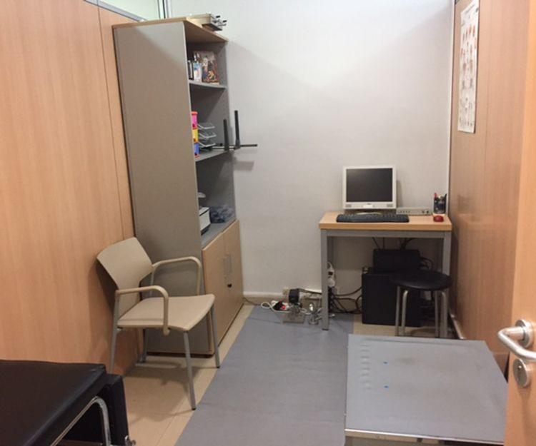 Interior de nuestro centro de podología en Barcelona