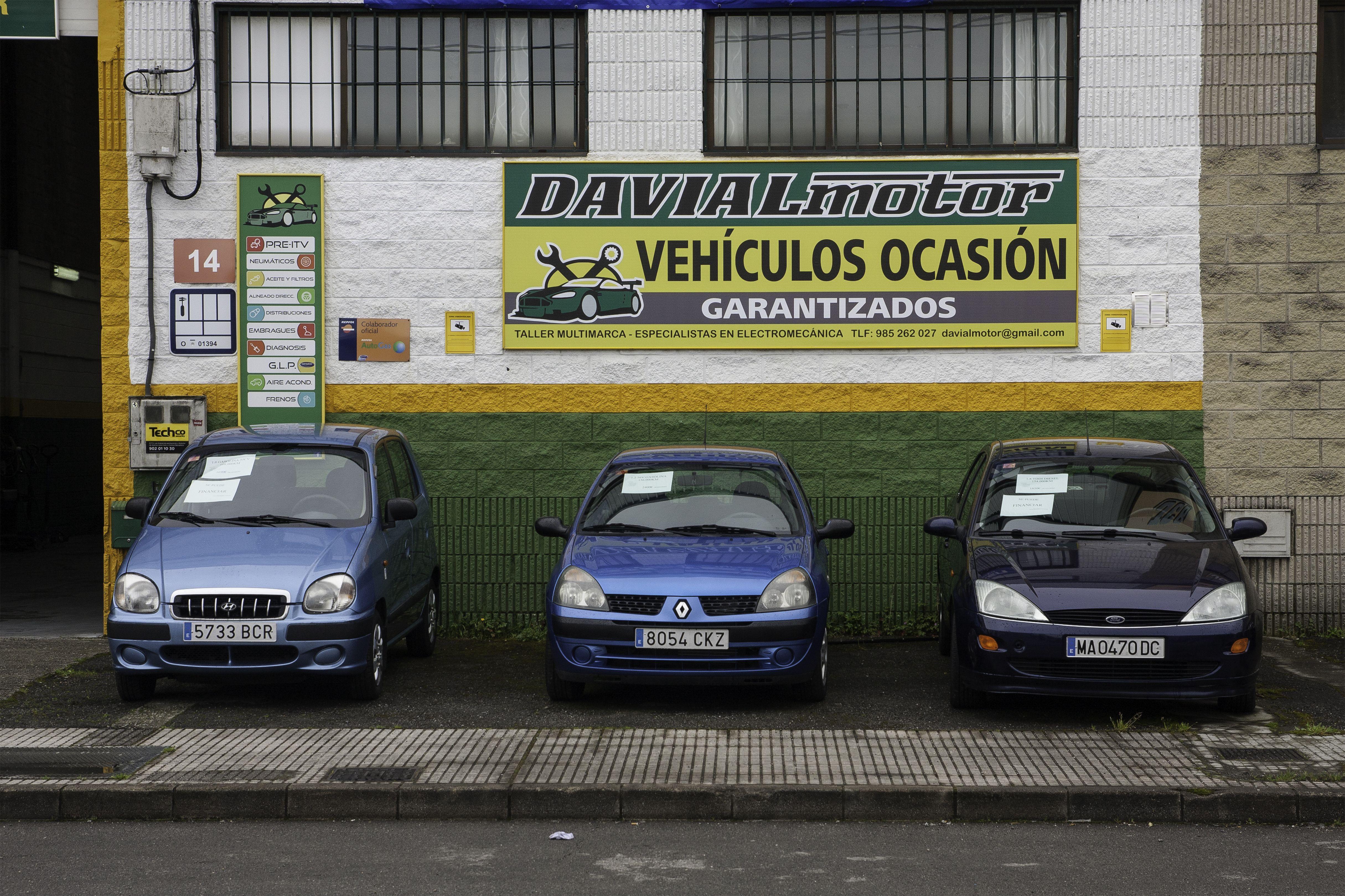 Venta de vehículos de ocasión en Siero