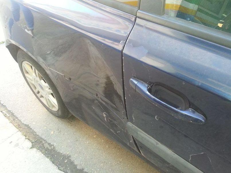 Reparación de golpes en vehículos