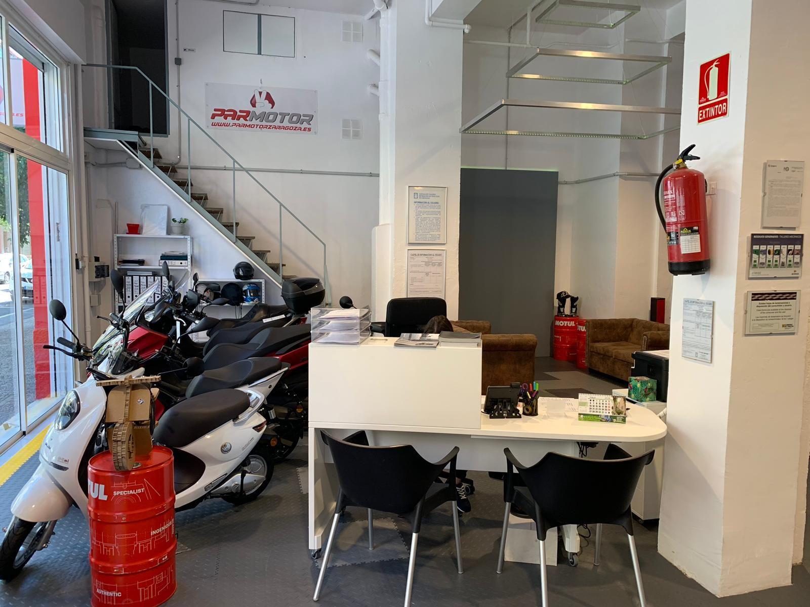 Foto 10 de Motos en  | Par Motor Zaragoza