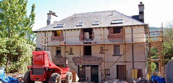 Fachadas: Trabajos de Construcciones y Reformas Adrián
