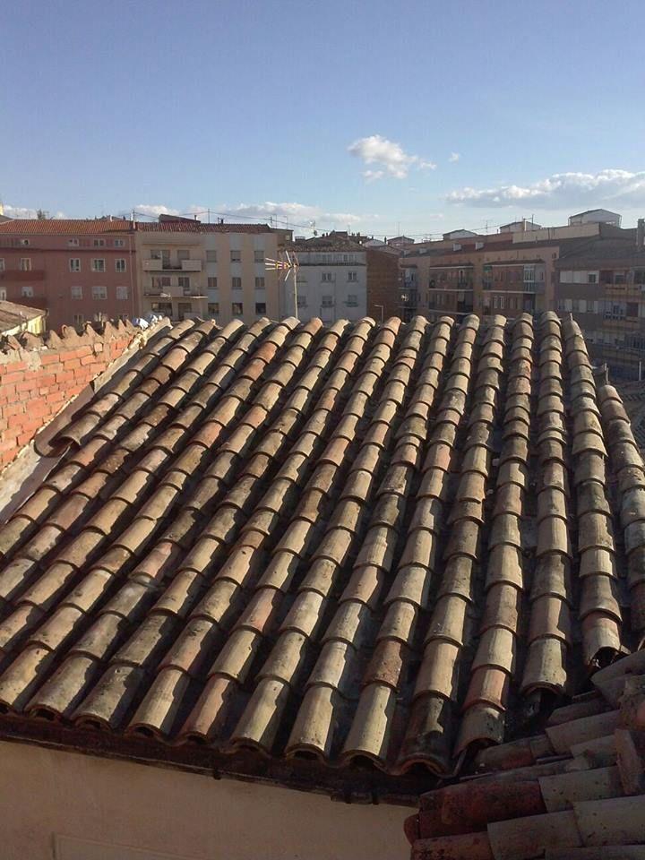 Cubiertas y tejados: Trabajos de Construcciones y Reformas Adrián
