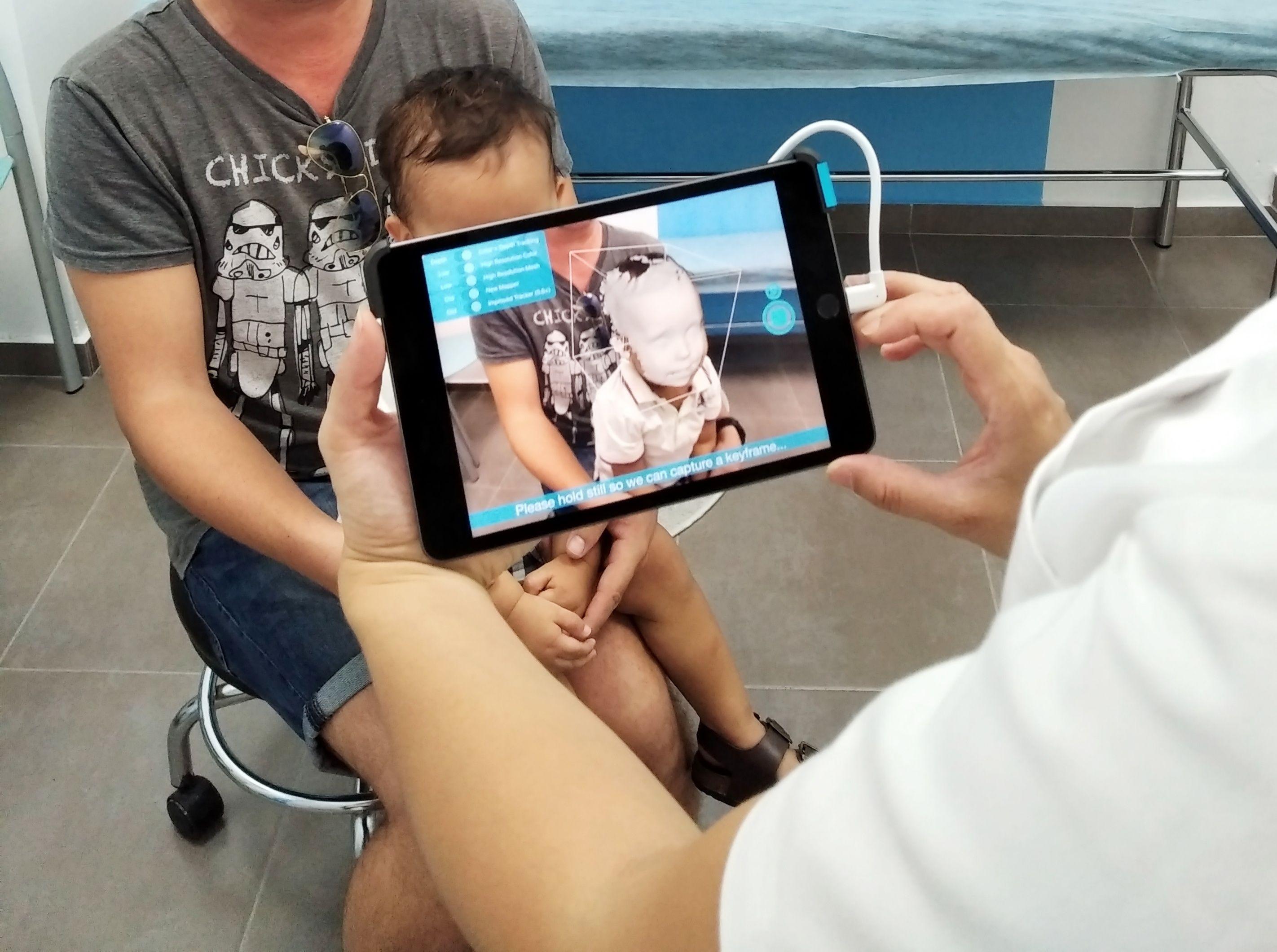 Cascos escaneados en 3D Valencia