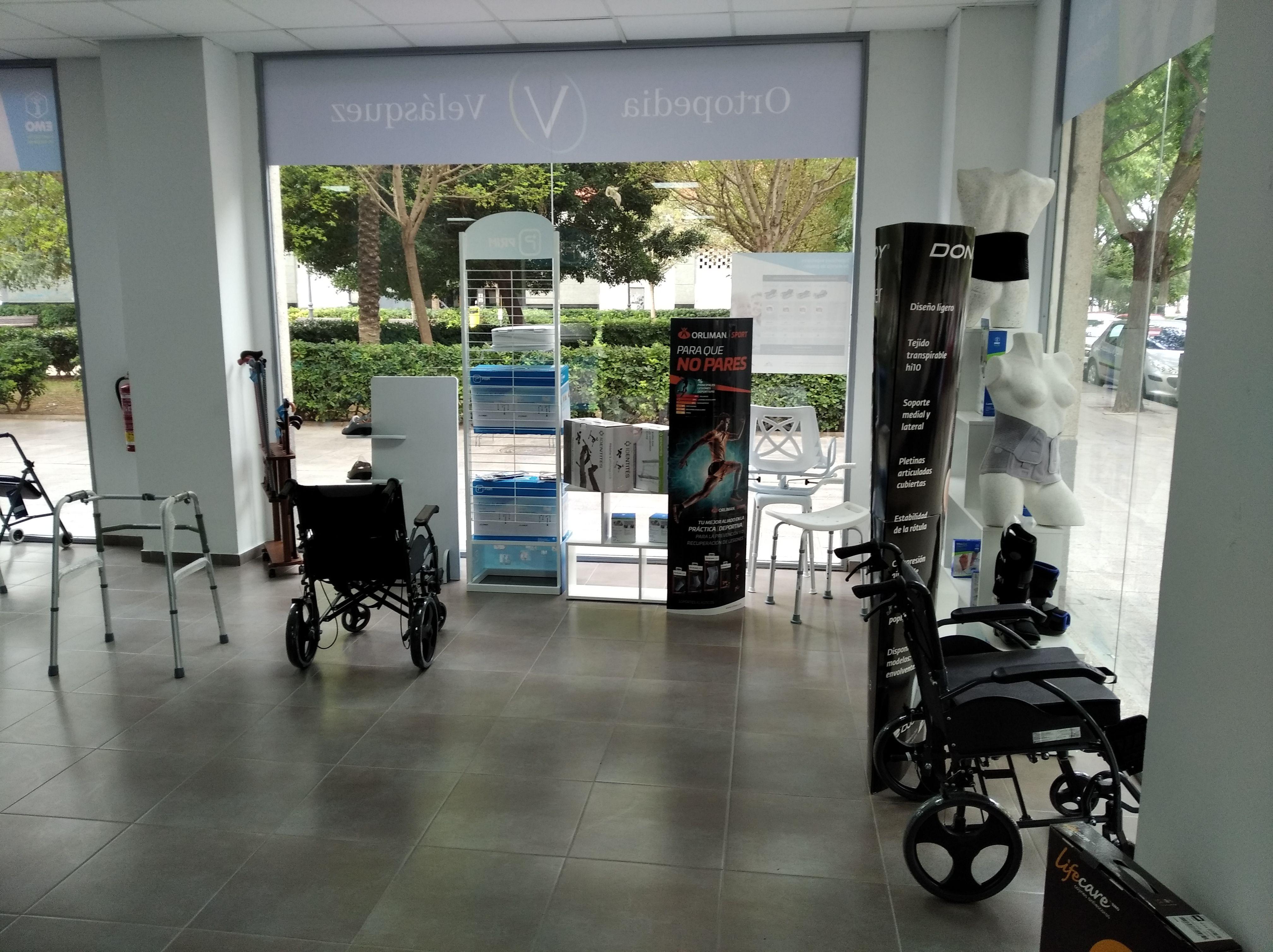 Sillas de ruedas: Productos de Ortopedia Velásquez
