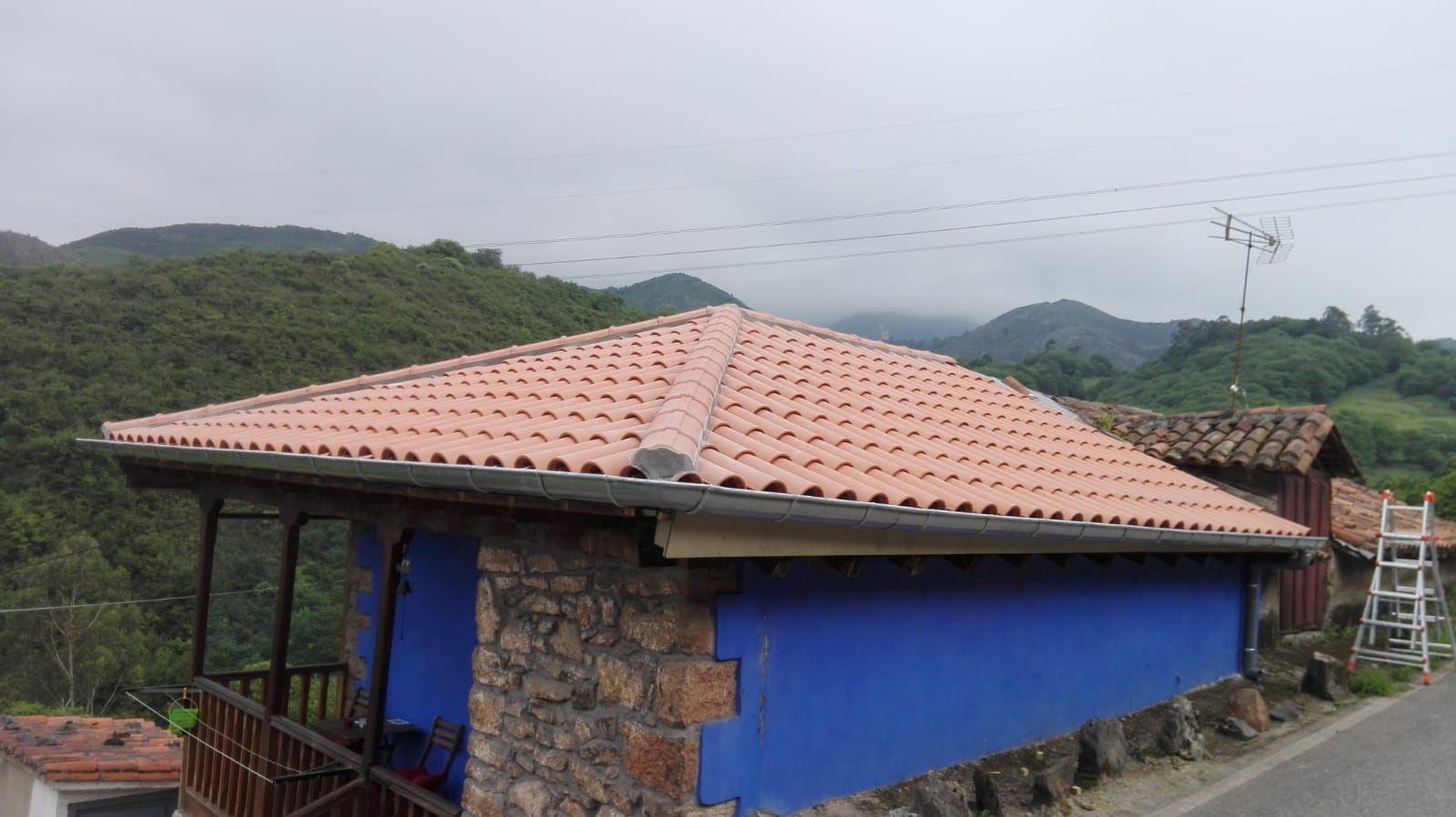 Rehabilitación tejados en Gijón