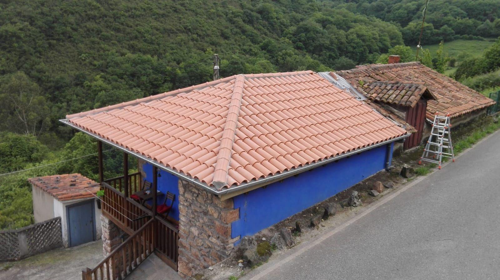 Foto 12 de Reparación de tejados en Oviedo | Tejamar