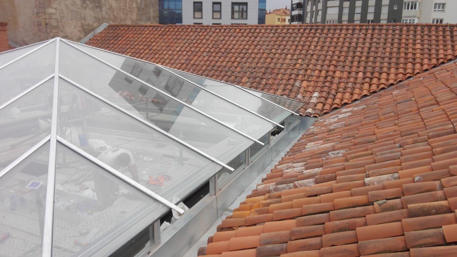 Mantenimiento de tejados en Oviedo
