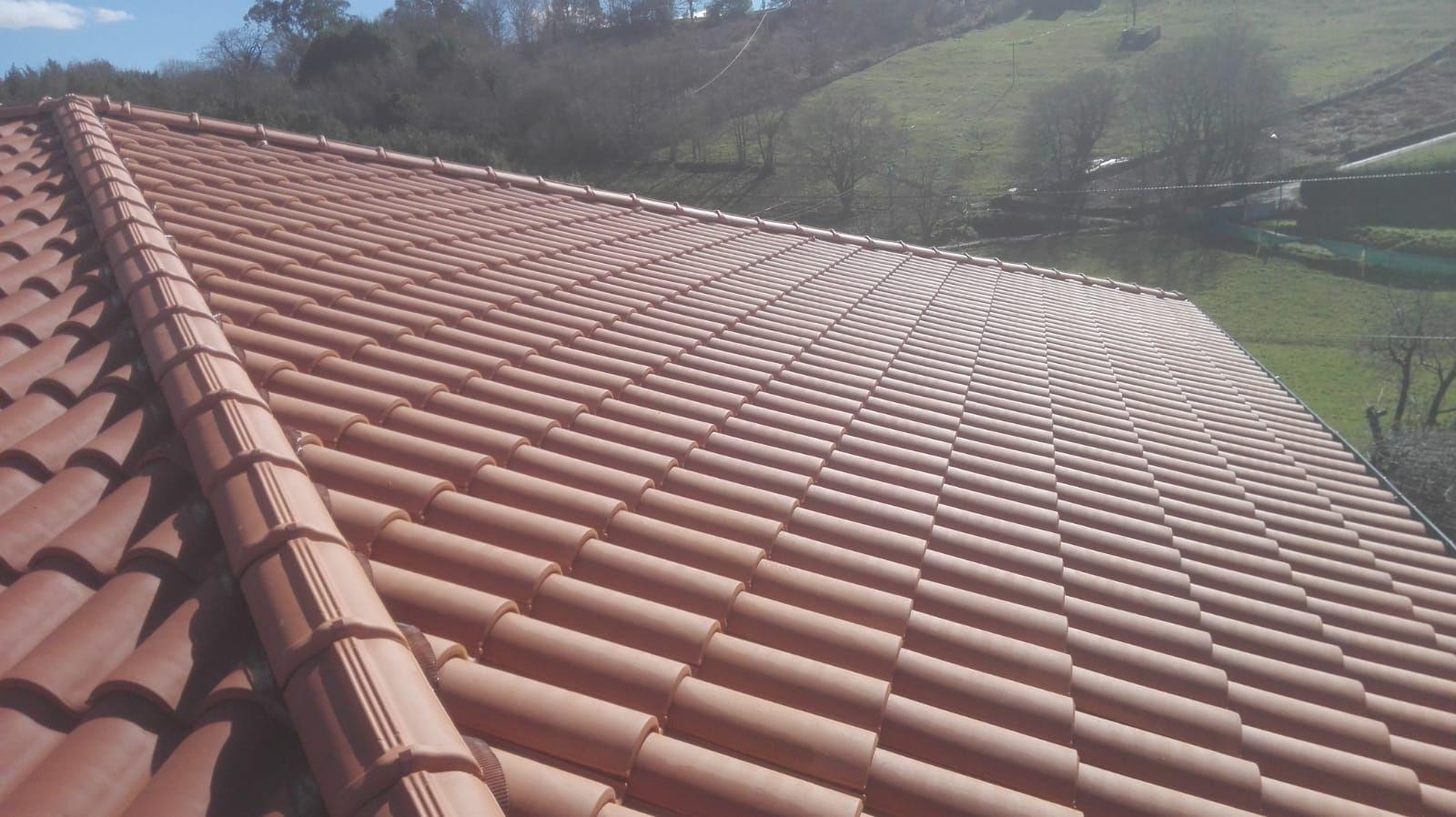 Foto 1 de Reparación de tejados en Oviedo | Tejamar