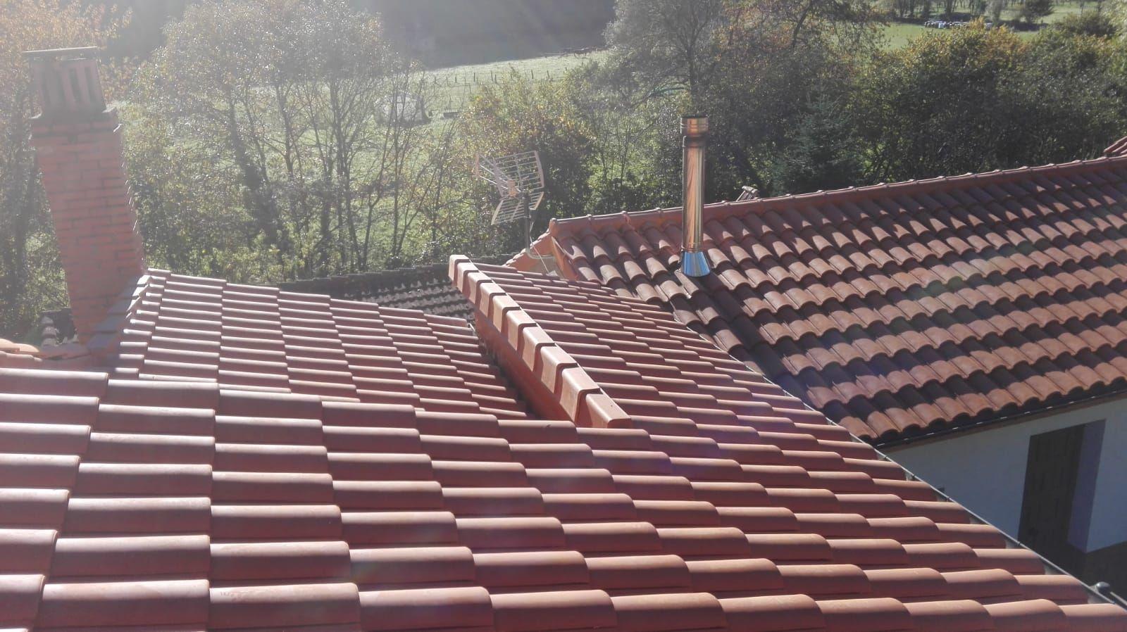Foto 5 de Reparación de tejados en Oviedo | Tejamar