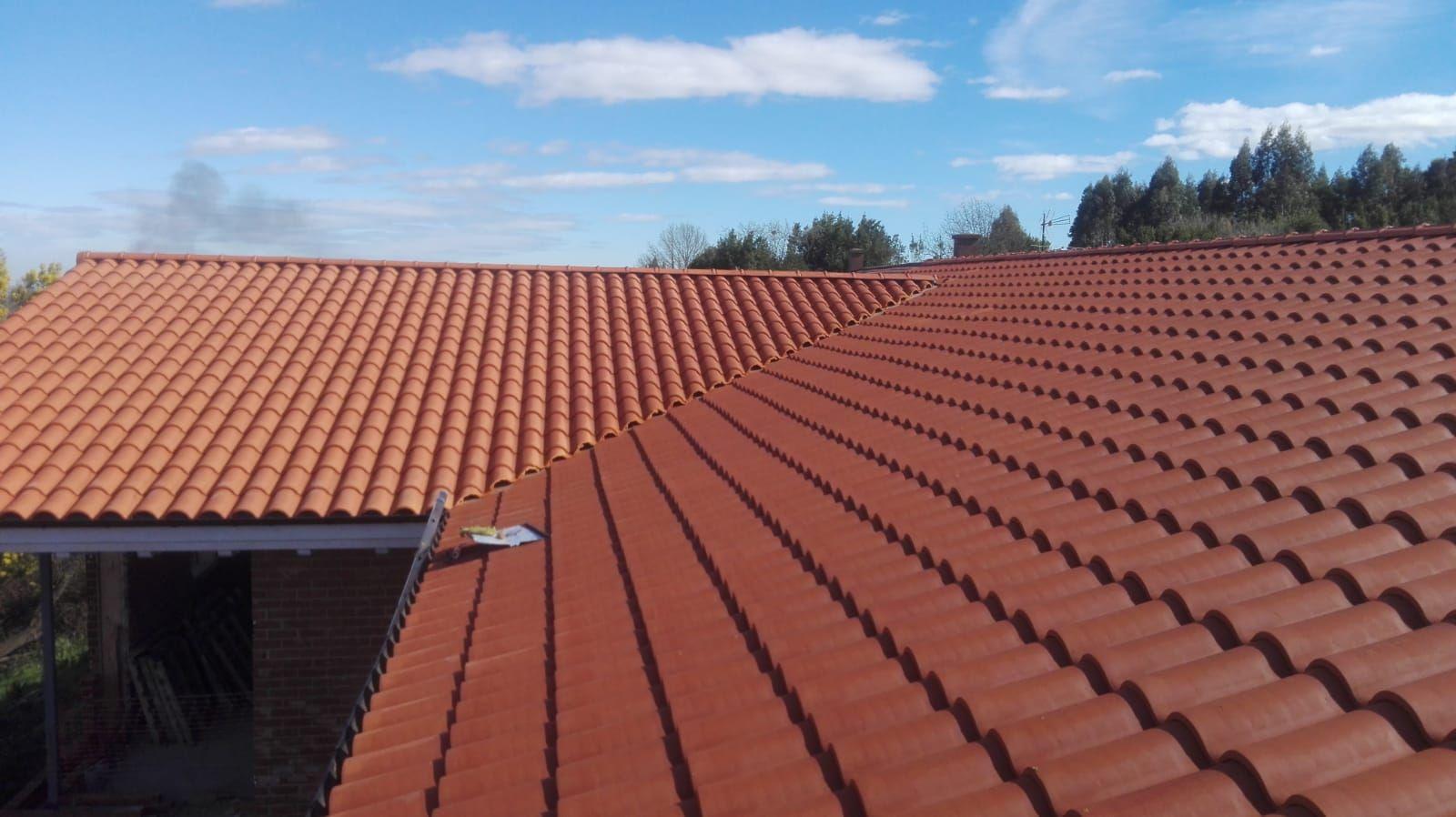 Mantenimiento de tejados en Gijón