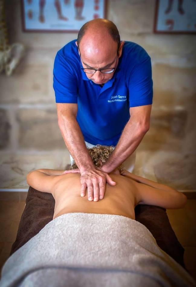 Terapias y masajes
