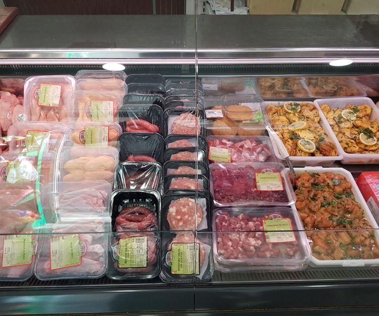 Productos de carnicería y pollería en Olot