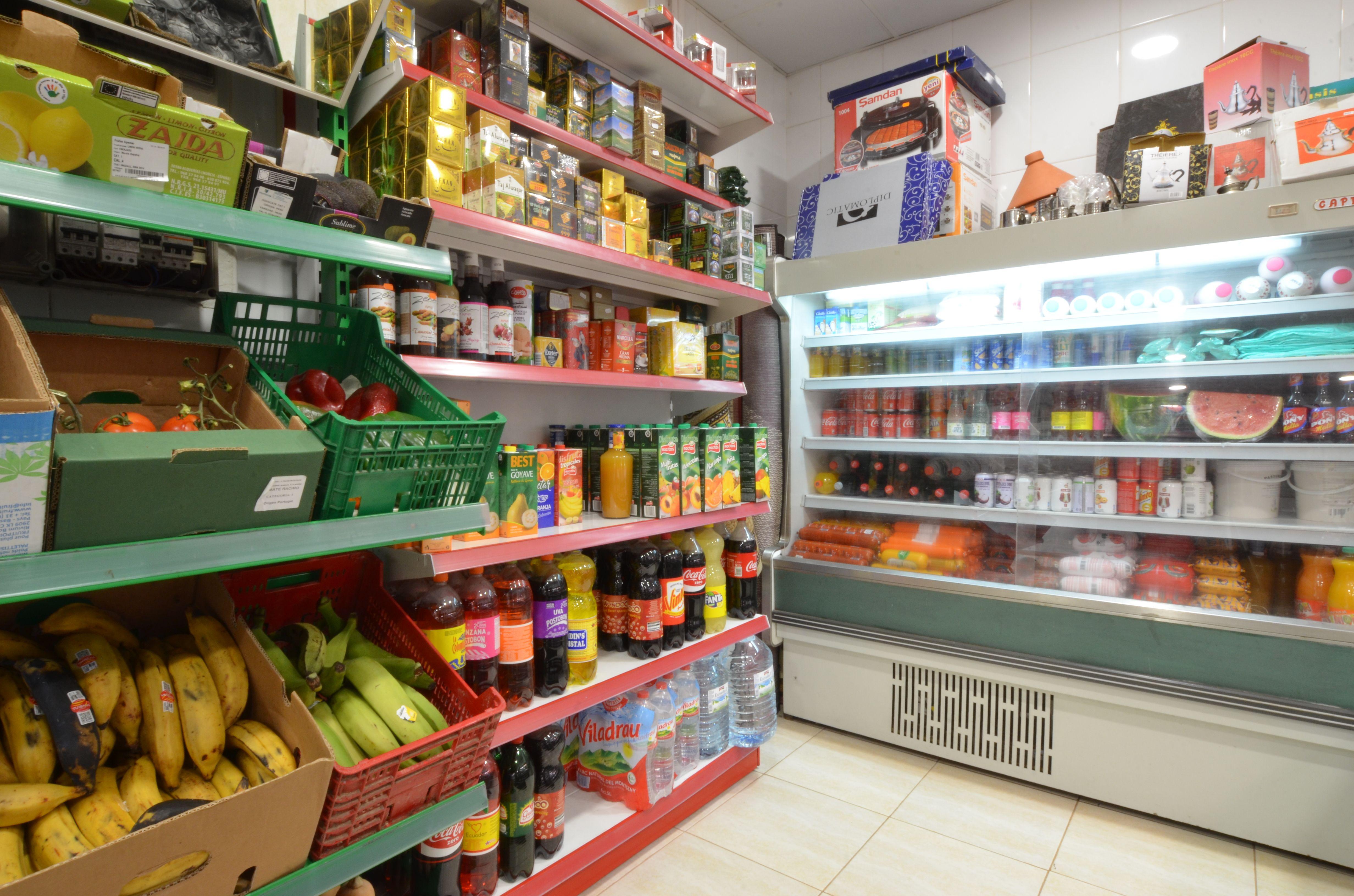 Venta de frutas y verduras en Olot