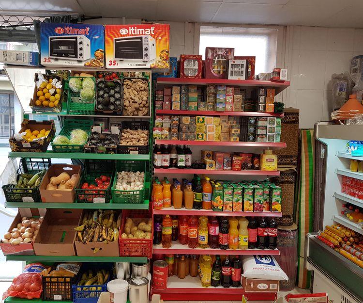 Tienda de comida en Olot