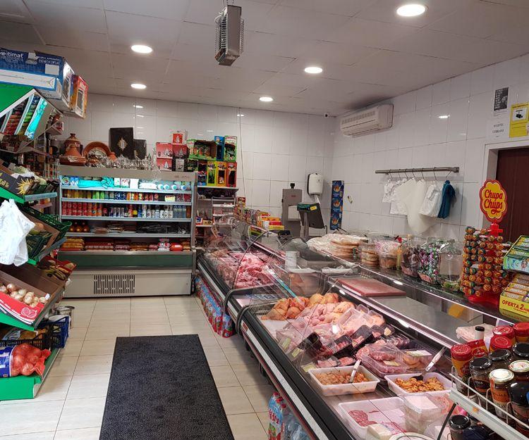 Venta de productos de alimentación en Olot