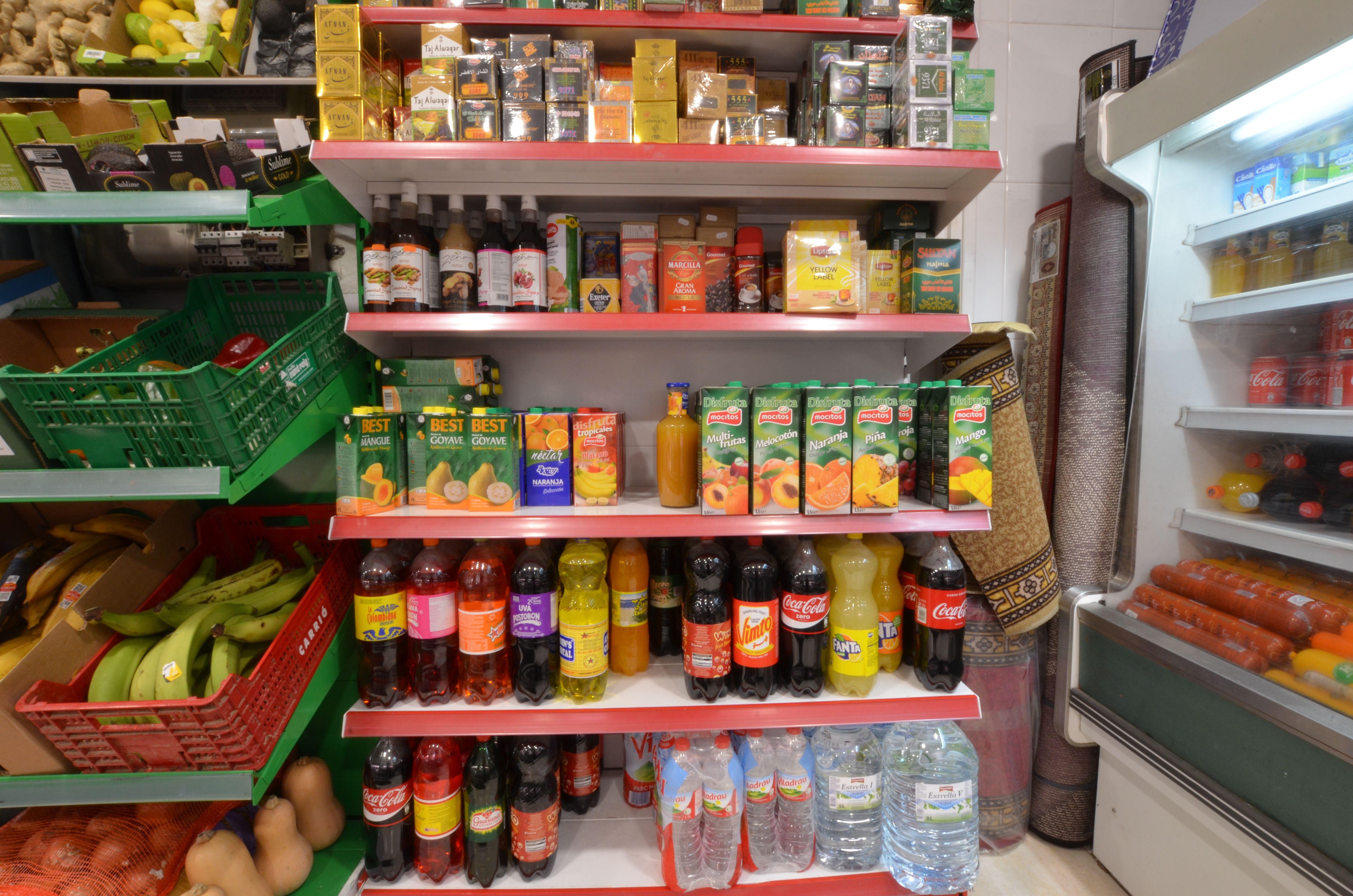 Venta de refrescos en Olot