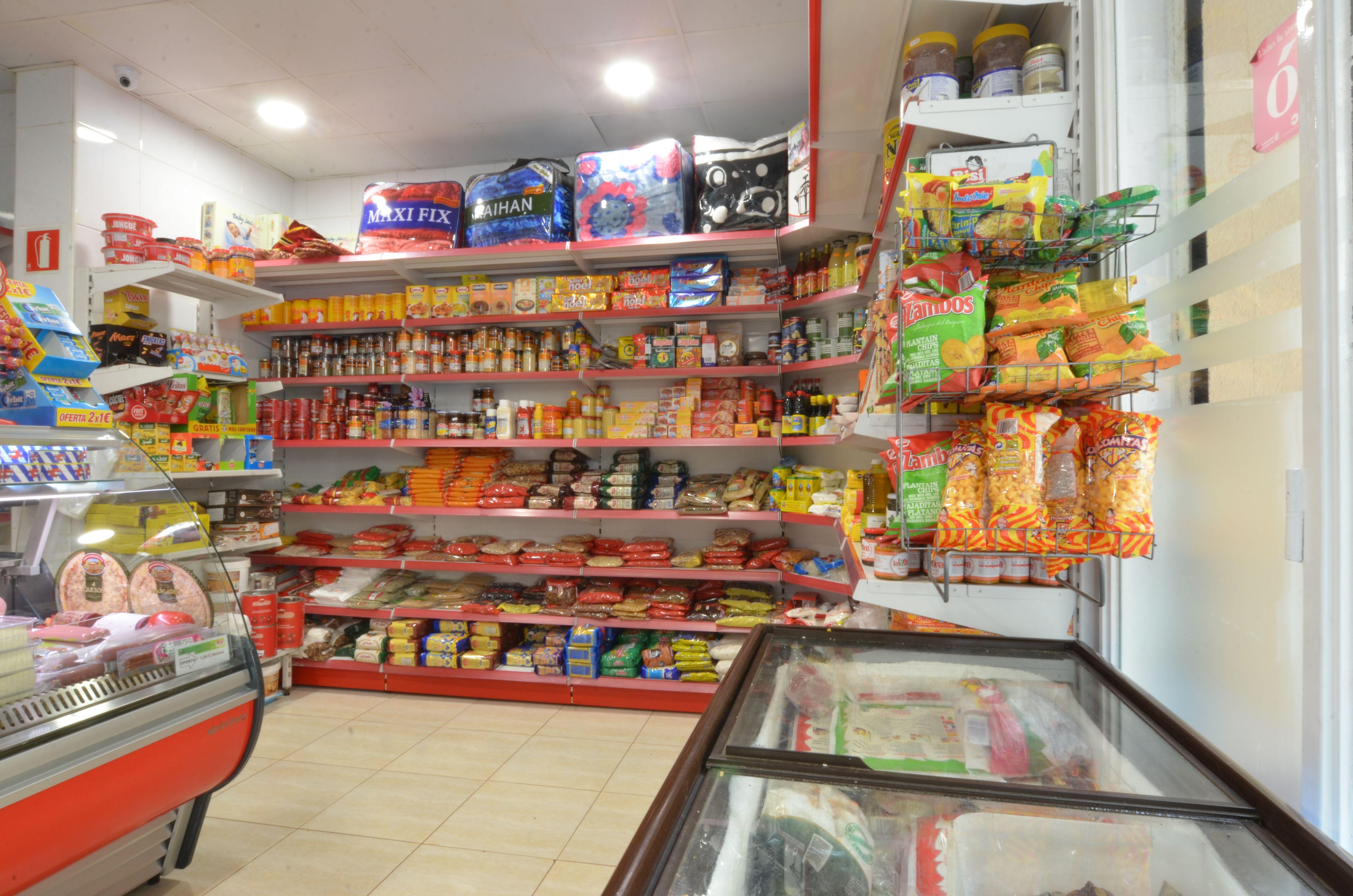 Productos de alimentación en Olot