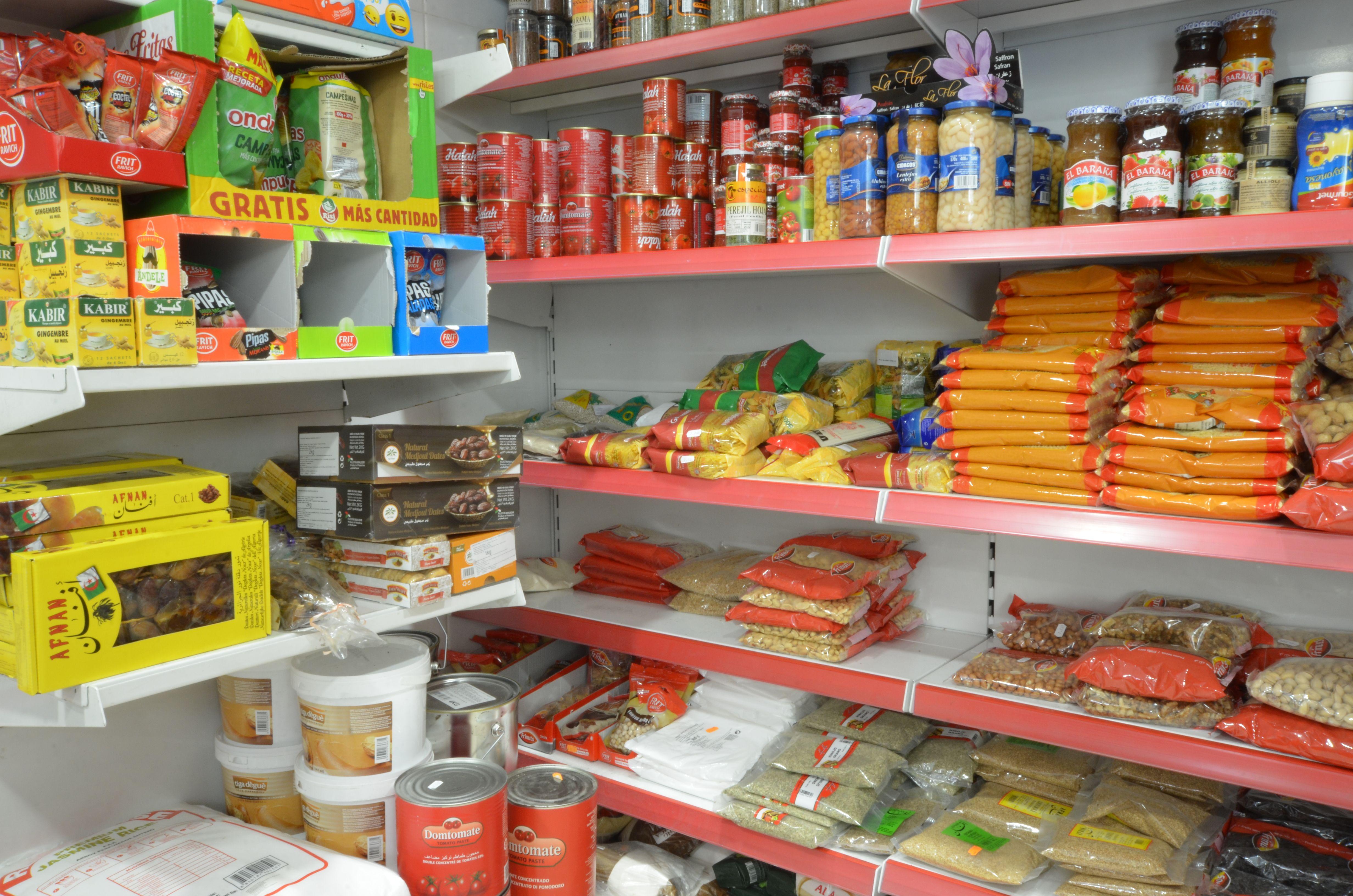 Autoservicio de alimentación en Olot