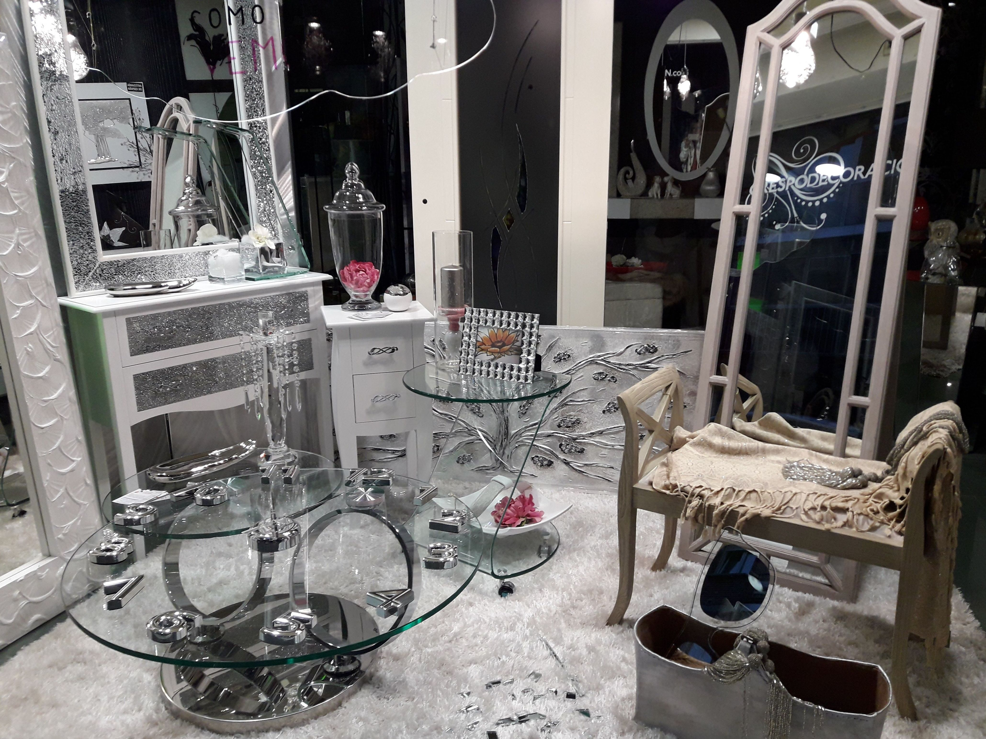 Mesas de Cristal y Espejos